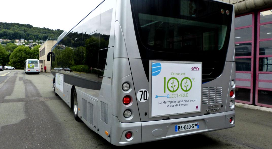 La Métropole de Rouen valide l'acquisition de bus à hydrogène