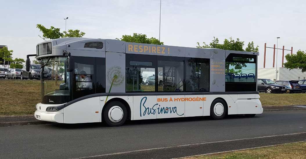 Bus à hydrogène : Auxerre s'engage avec Safra