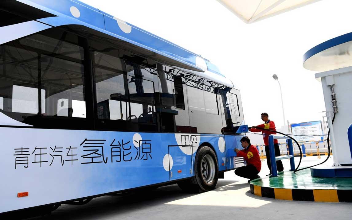 La Chine veut un million de véhicules à hydrogène d'ici 2030