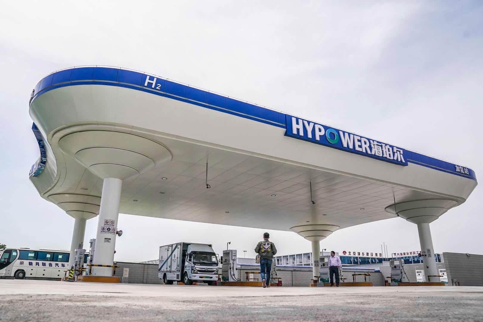 La Chine ouvre la plus grande station hydrogène au monde