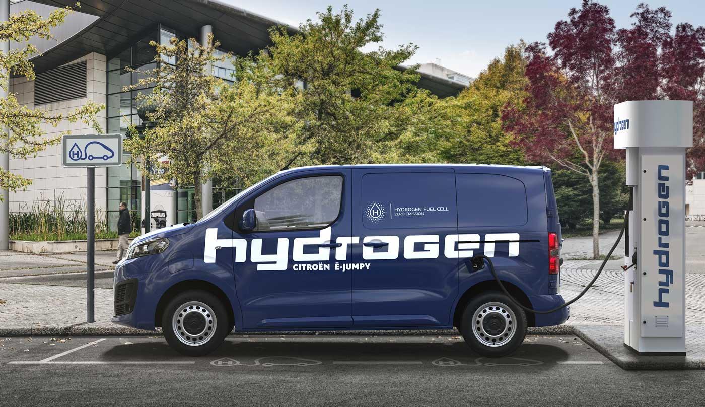 Citroën révèle un Jumpy hydrogène avec 400 km d'autonomie