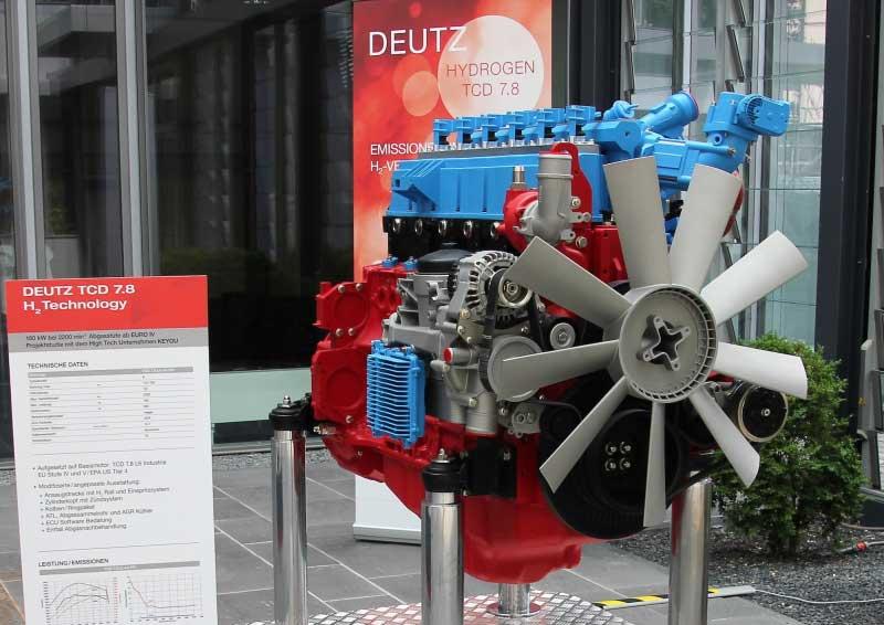 L'hydrogène au programme de Deutz