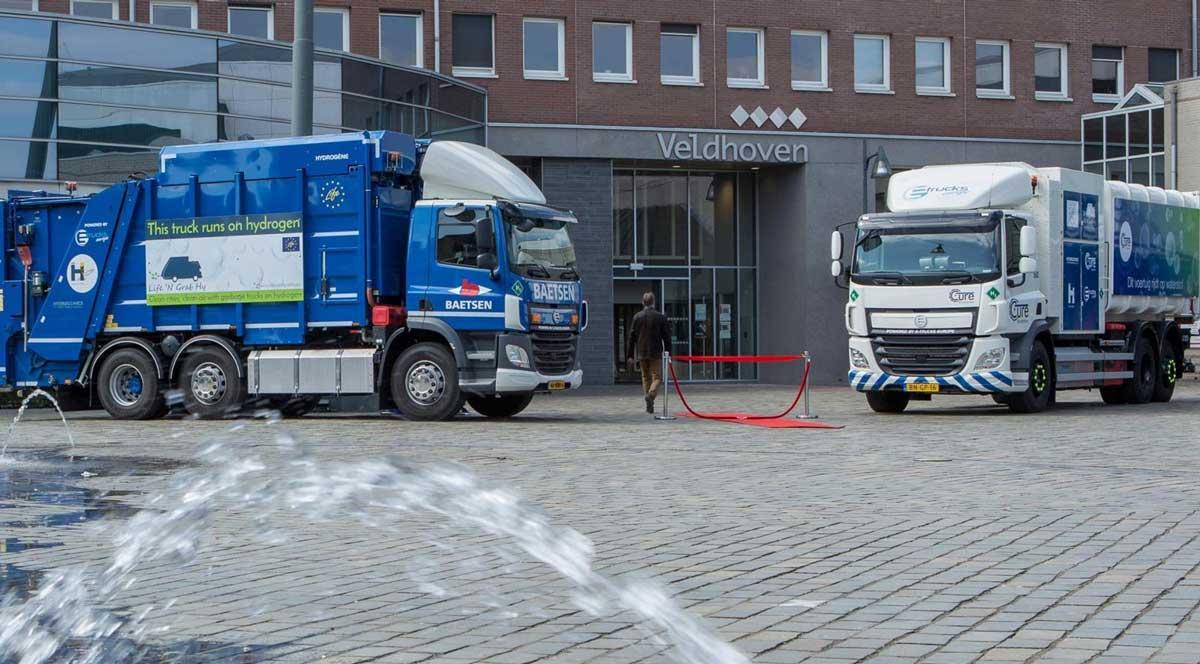 Aux Pays-Bas, Eindhoven teste ses premières bennes à ordures à hydrogène