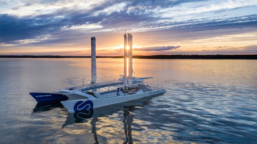 Toyota : la pile à combustible de la Mirai adaptée pour le bateau Energy Observer