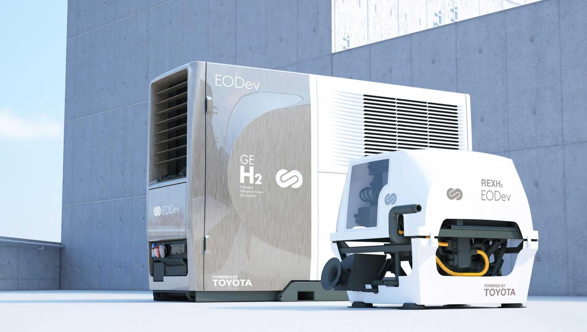 Hydrogène : Toyota investit dans la start-up EODev