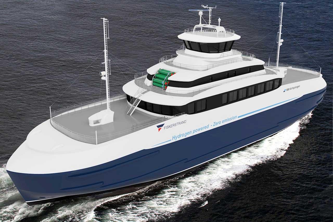 En Norvège, un ferry se convertit à l'hydrogène