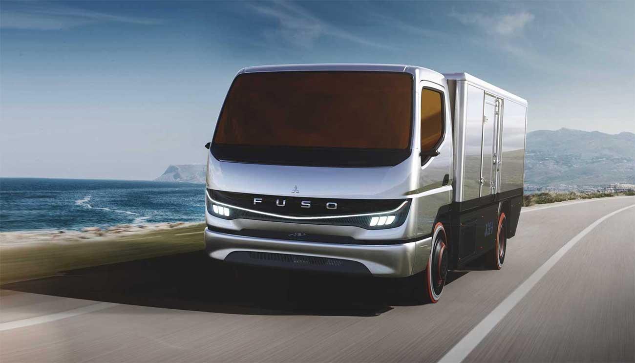 Mitsubishi Fuso révèle un concept de camion à hydrogène