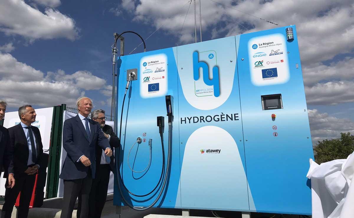 Zero Emission Valley : une première station à hydrogène pour Clermont-Ferrand
