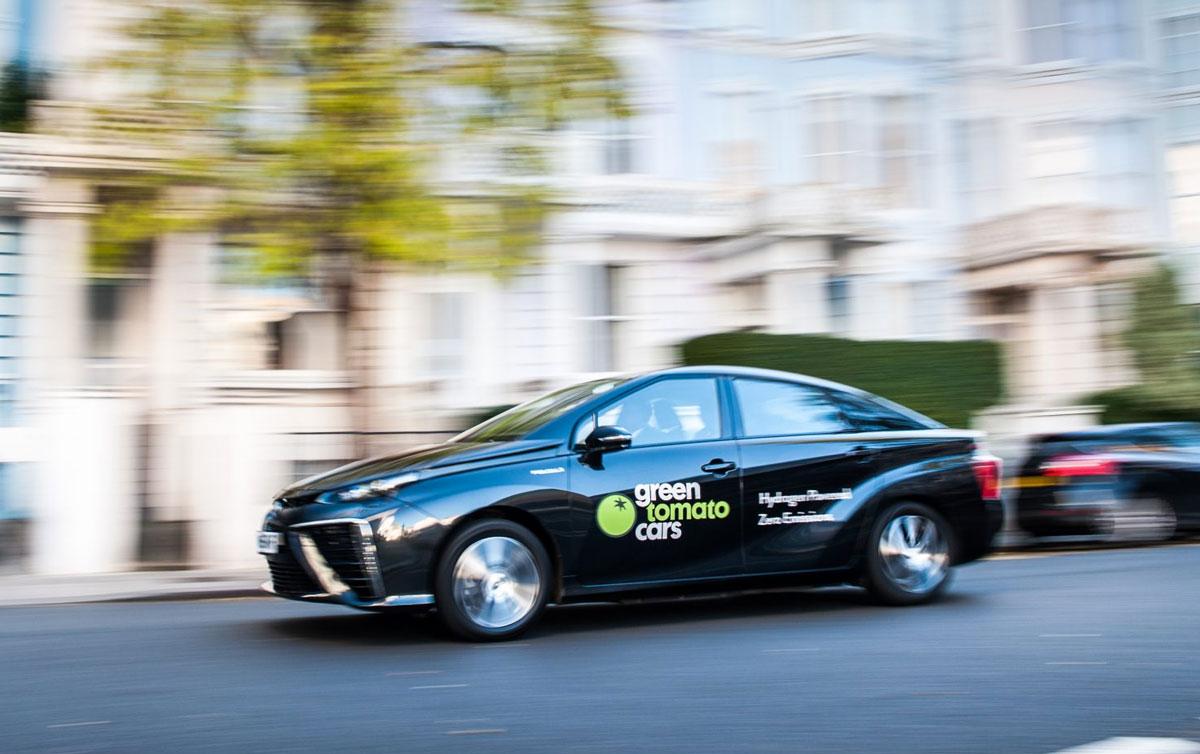 La Toyota Mirai dépasse le million de kilomètres à Londres