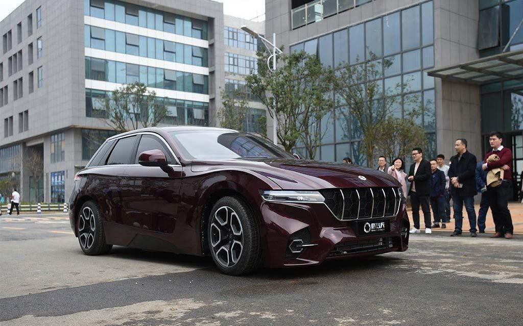 Grove Obsidian, la future voiture à hydrogène chinoise à 1.000 km d'autonomie