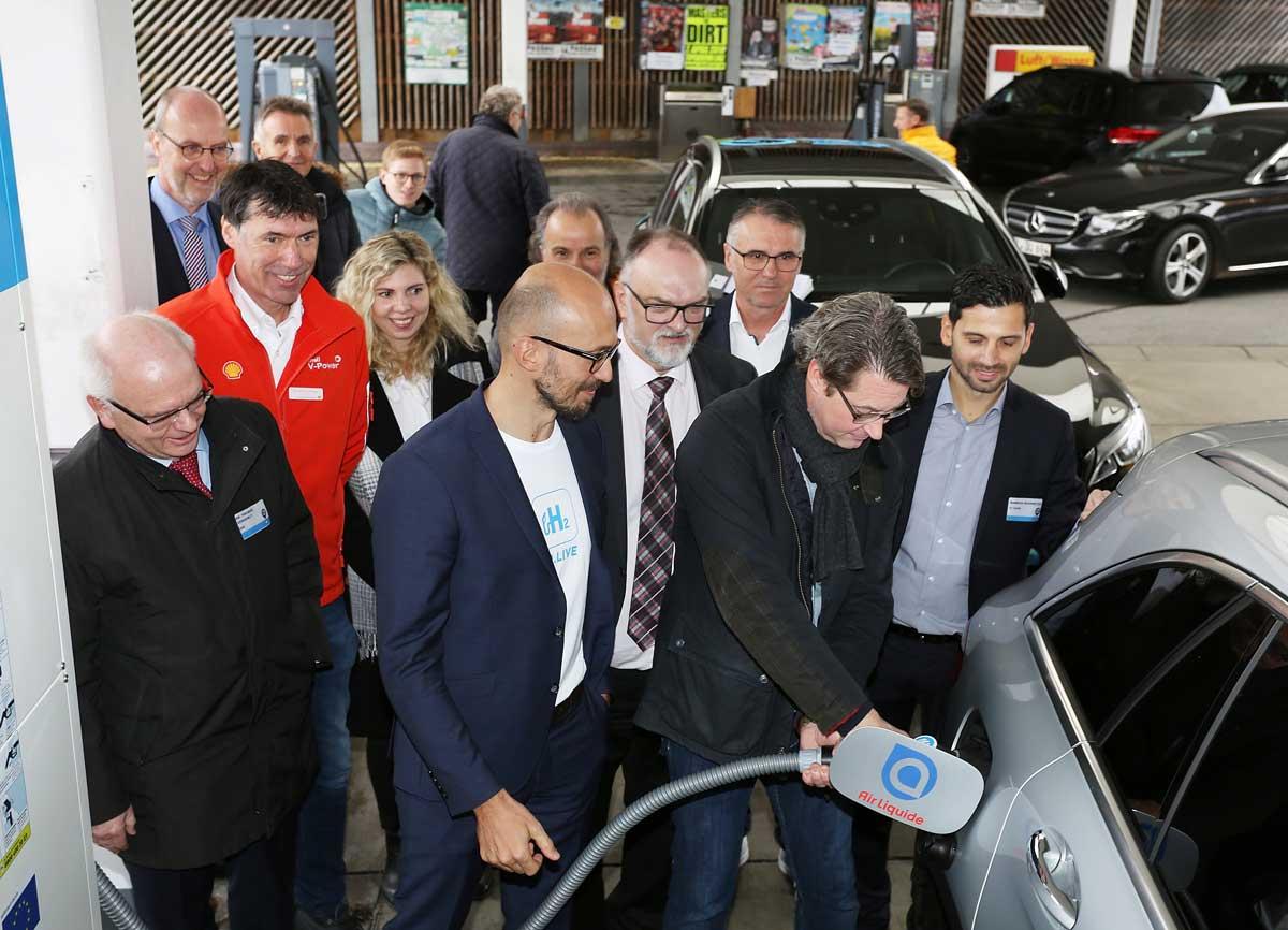 En Allemagne, Shell et Air Liquide ouvrent une nouvelle station hydrogène à Passau