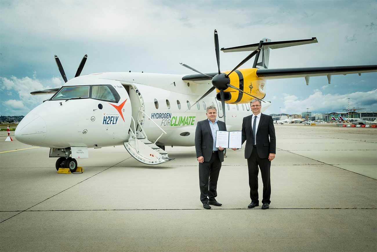 Avion à hydrogène : H2FLY et Deutsche Aircraft visent un premier vol en 2025