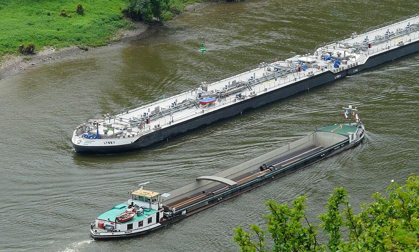 H2Ships : Bientôt des péniches à hydrogène sur la Seine ?