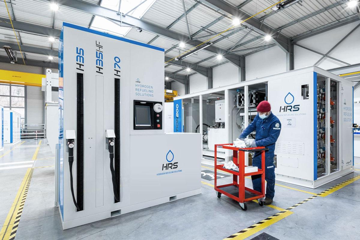 Station hydrogène : Total passe commande à HRS