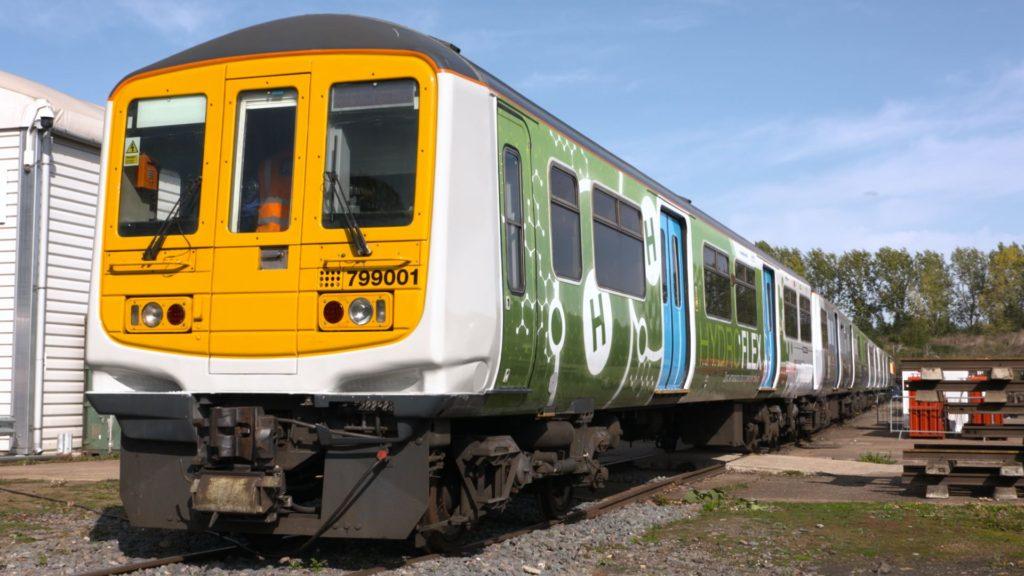 Un premier train à hydrogène a circulé en Grande-Bretagne