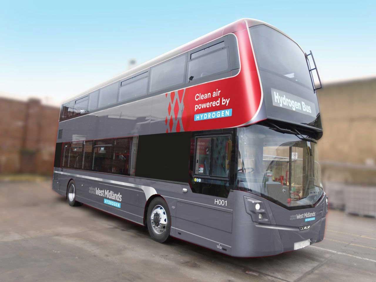 De nouveaux bus à hydrogène pour l'Angleterre