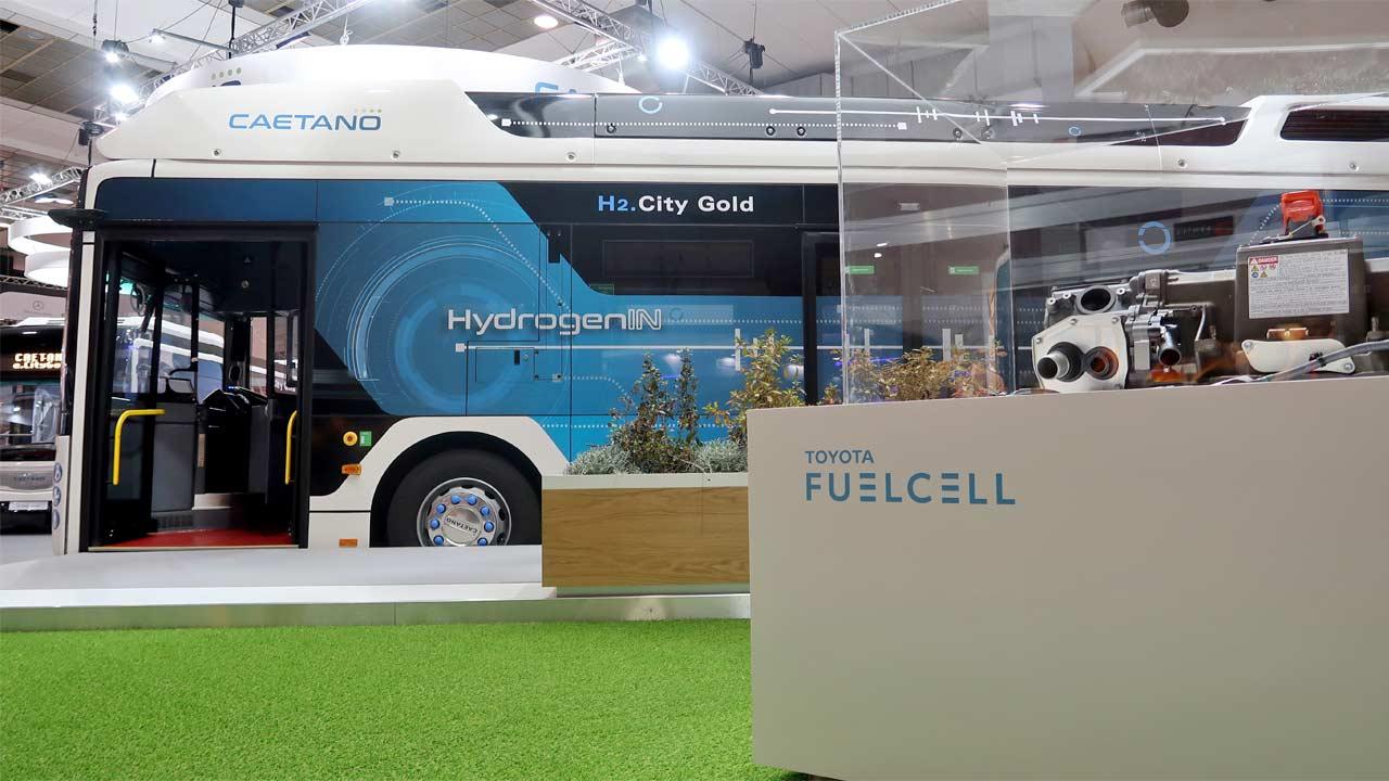 La RATP va tester le bus à hydrogène de Caetano fin 2020