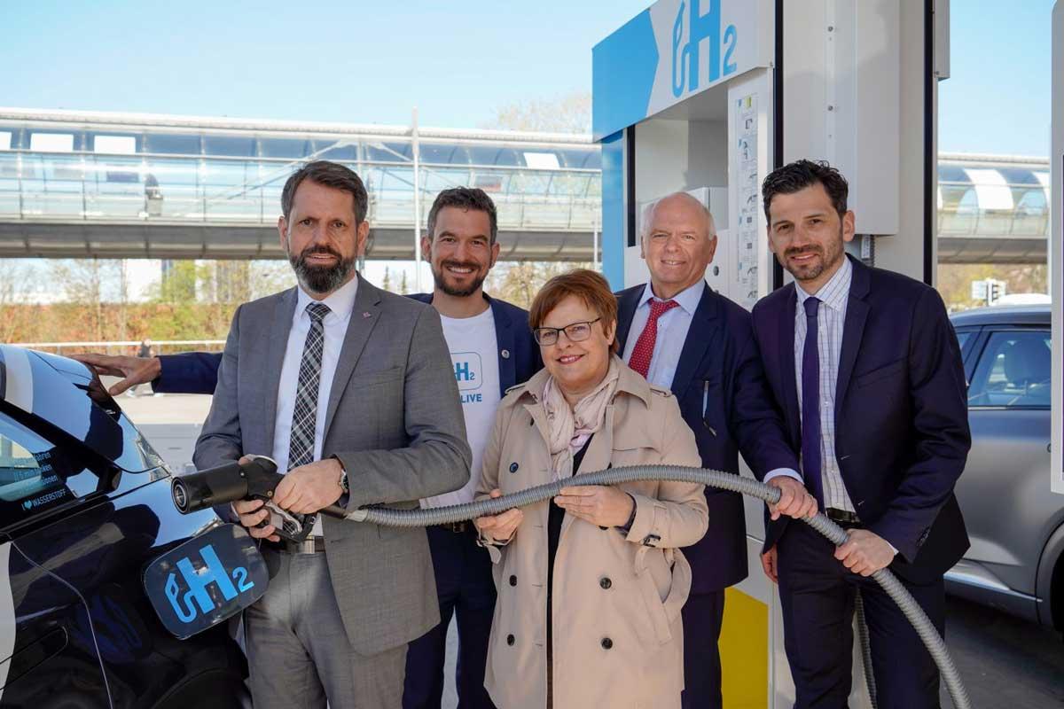 Hanovre accueille la 64ème station hydrogène d'Allemagne