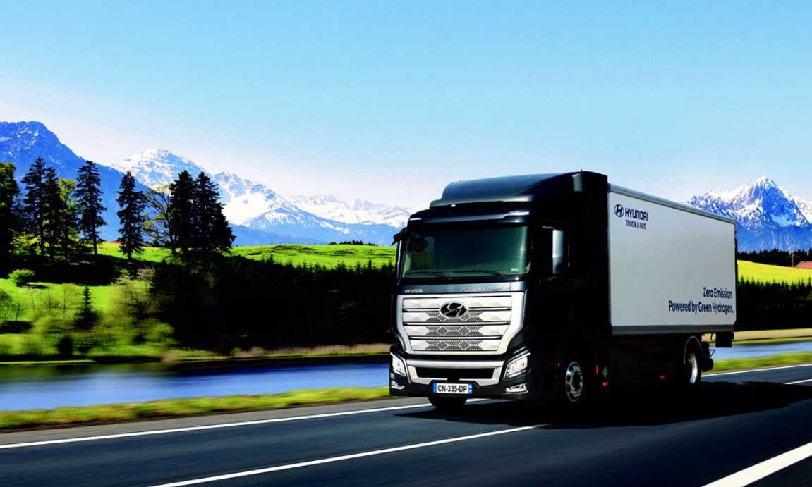 Le poids-lourd à hydrogène de Hyundai remporte le Prix International du camion de l'année 2020