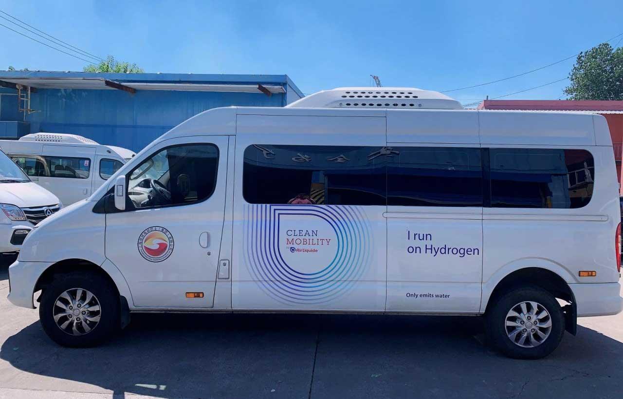 Chine : des navettes à hydrogène pour les salariés d'Air Liquide