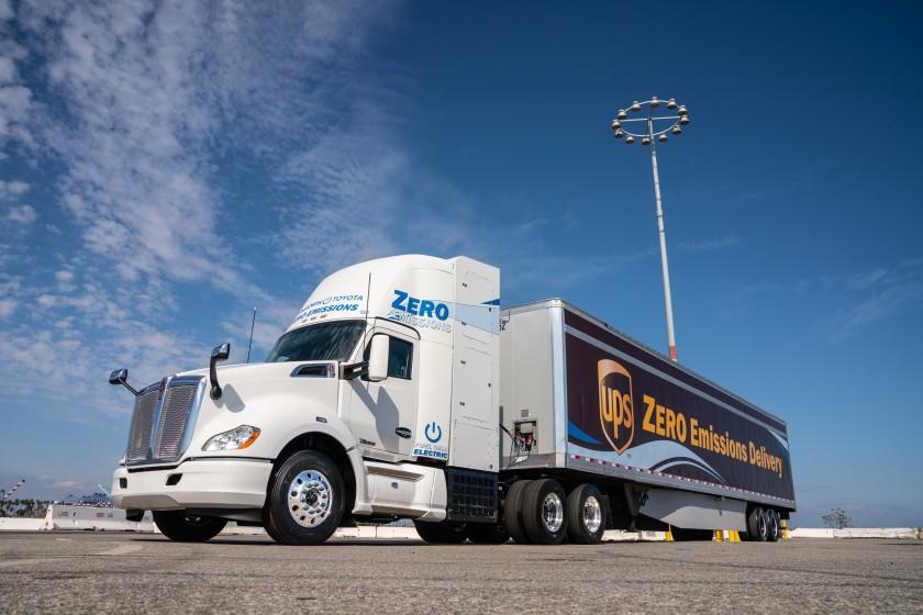 Californie : des quotas pour encourager le développement des camions hydrogène