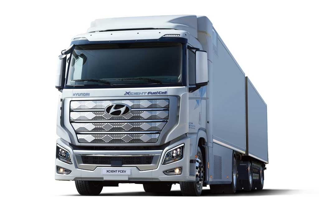 Hyundai va livrer 4000 camions à hydrogène en Chine