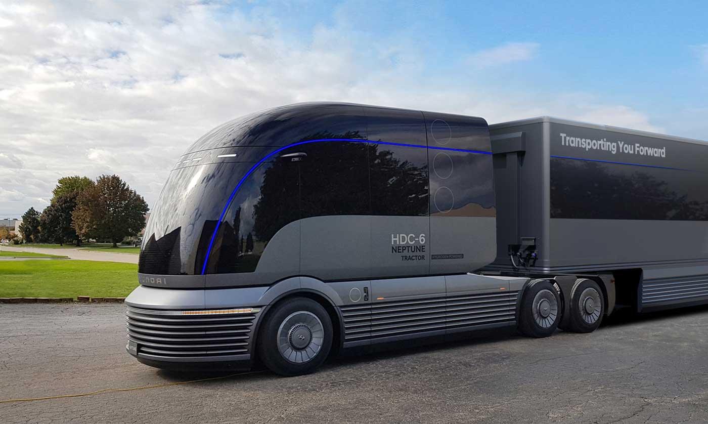 Camion hydrogène : Avec le HDC-6 Neptune, Hyundai présente sa vision du futur