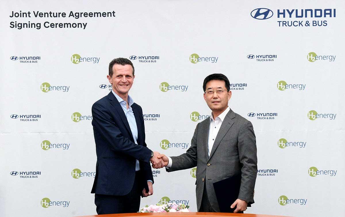 Hyundai et H2 Energy s'associent pour développer la mobilité hydrogène en Europe