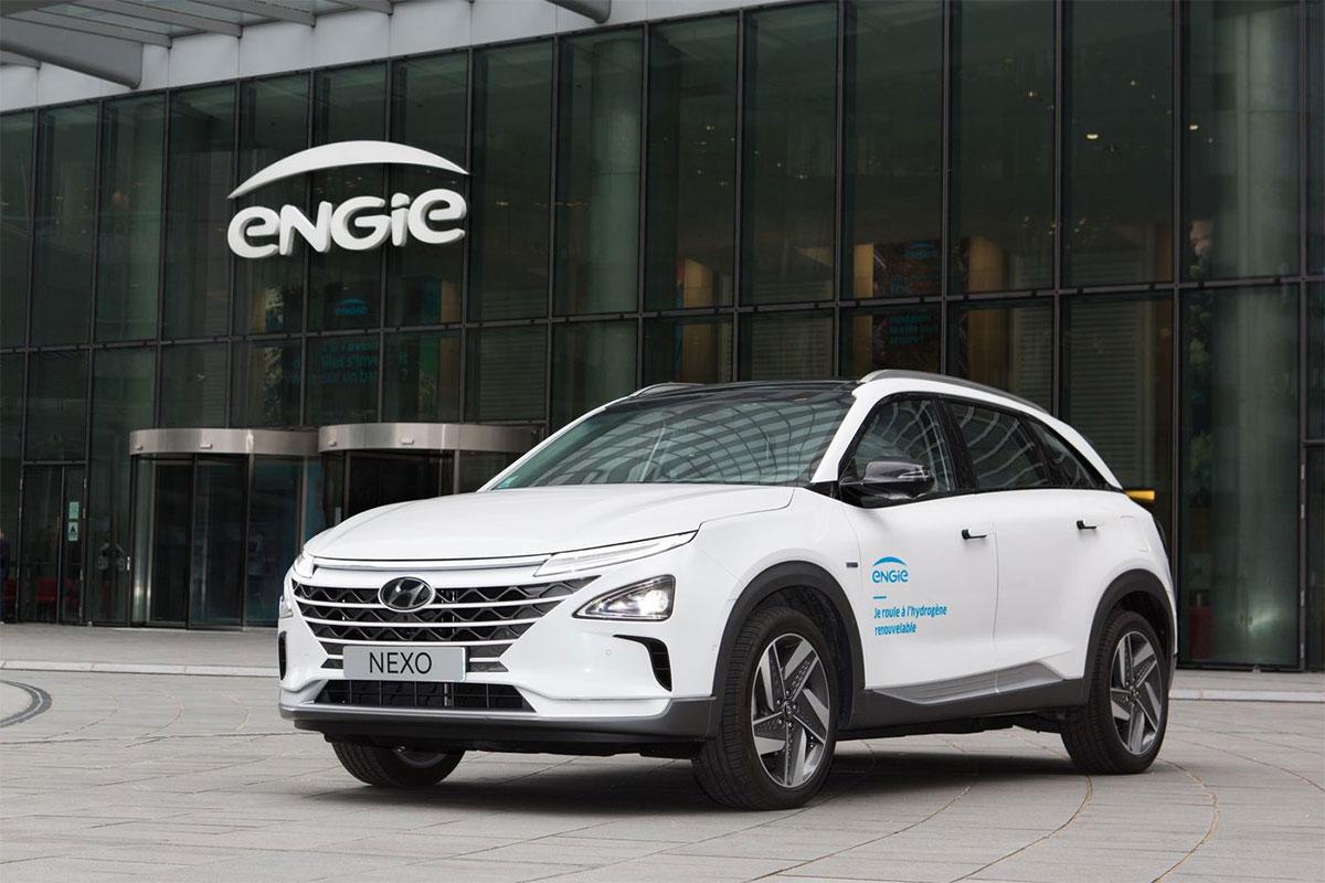 Le premier Hyundai Nexo livré à Engie Cofely