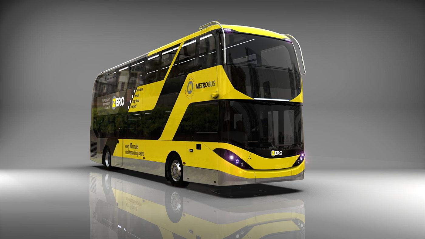 20 nouveaux bus à hydrogène pour Liverpool