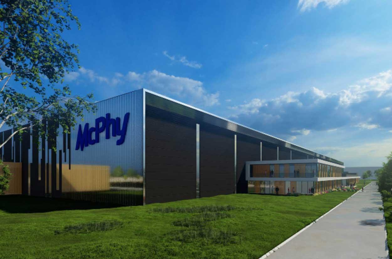McPhy choisit Belfort pour sa future Gigafactory d'électrolyseurs