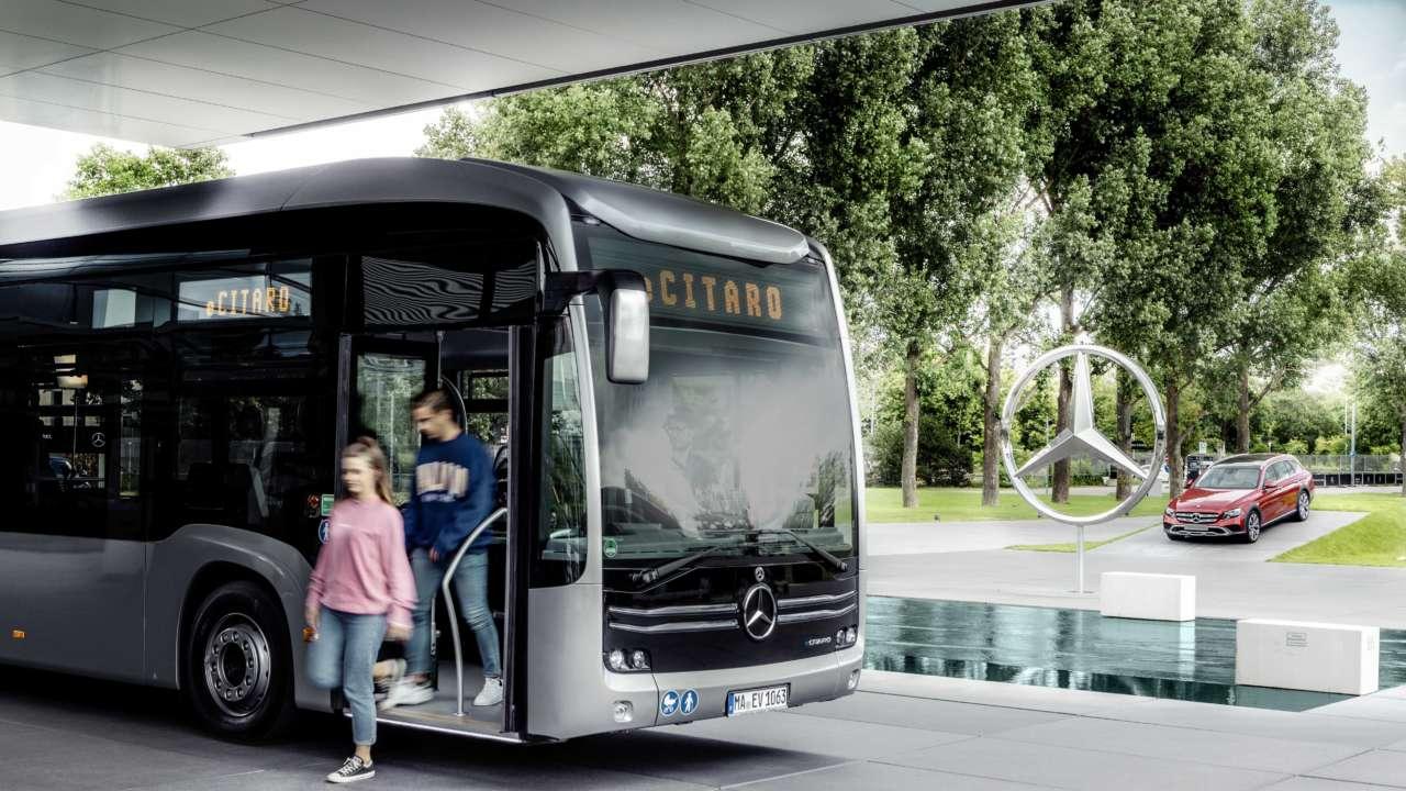 Hambourg va tester un bus électrique doté d'un prolongateur à pile à combustible