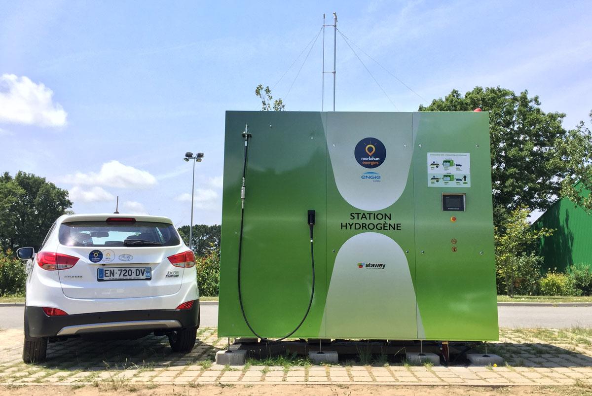 Bientôt une station hydrogène à Lorient ?