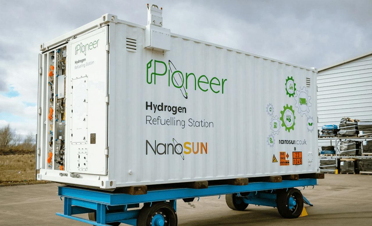 NanoSUN va tester sa station hydrogène mobile