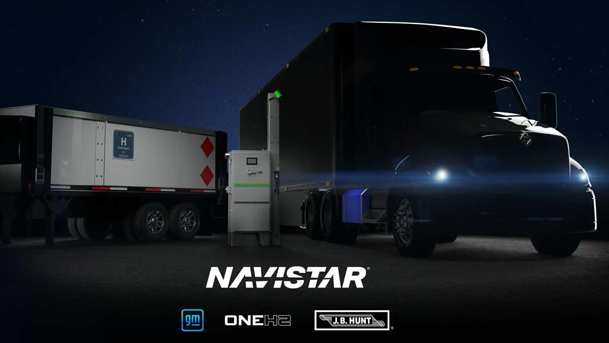 Camion à hydrogène : Navistar utilisera la technologie Hydrotec de General Motors