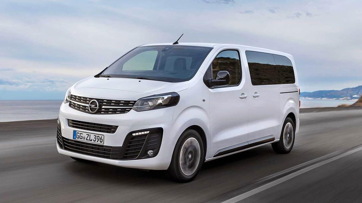 Opel débutera les tests du Zafira Life à hydrogène en 2021