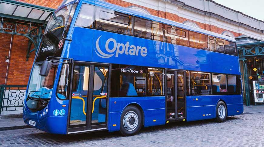 Royaume-Uni : Optare présente son bus à hydrogène à deux étages