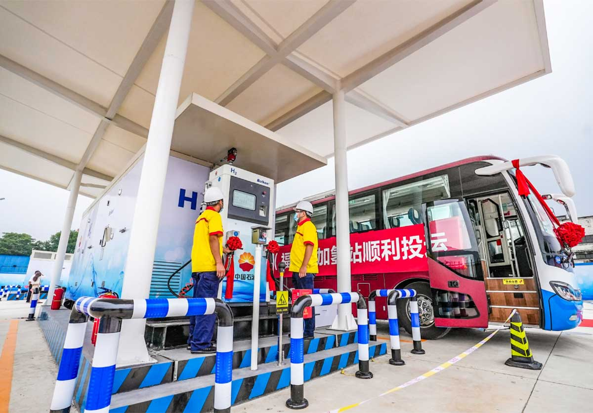 Pékin lance son cluster hydrogène