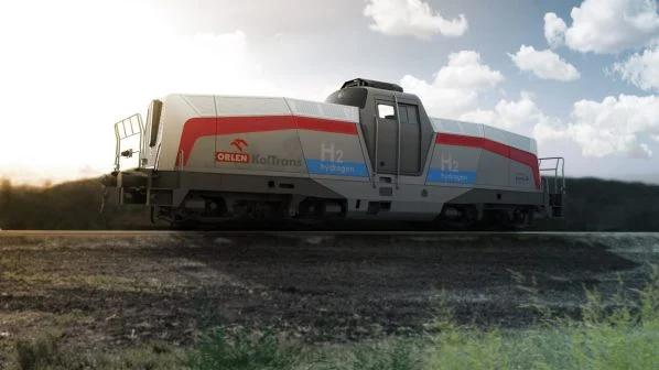 Pesa dévoile un prototype de locomotive à hydrogène