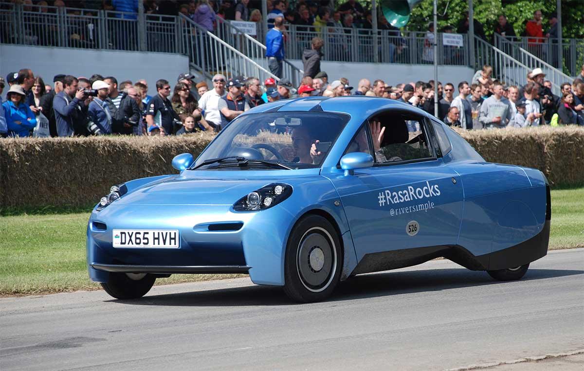 Ultra-légère et alimentée à l'hydrogène, cette voiture pourrait révolutionner la mobilité individuelle