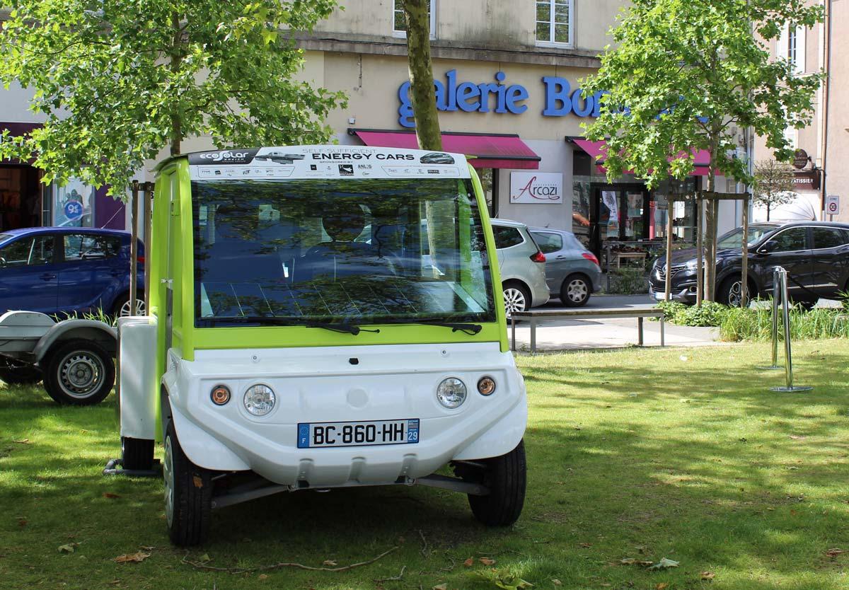 Bretagne : hydrogène vert et production d'une voiture H2 en autopartage à Redon