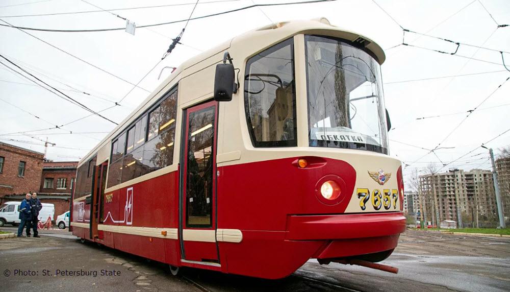 Un tramway à hydrogène en test à Saint-Pétersbourg