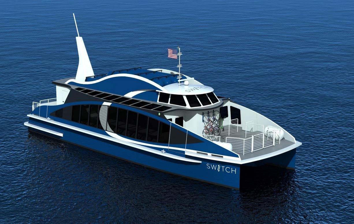 Sea Change : un ferry à hydrogène pour la baie de San Francisco