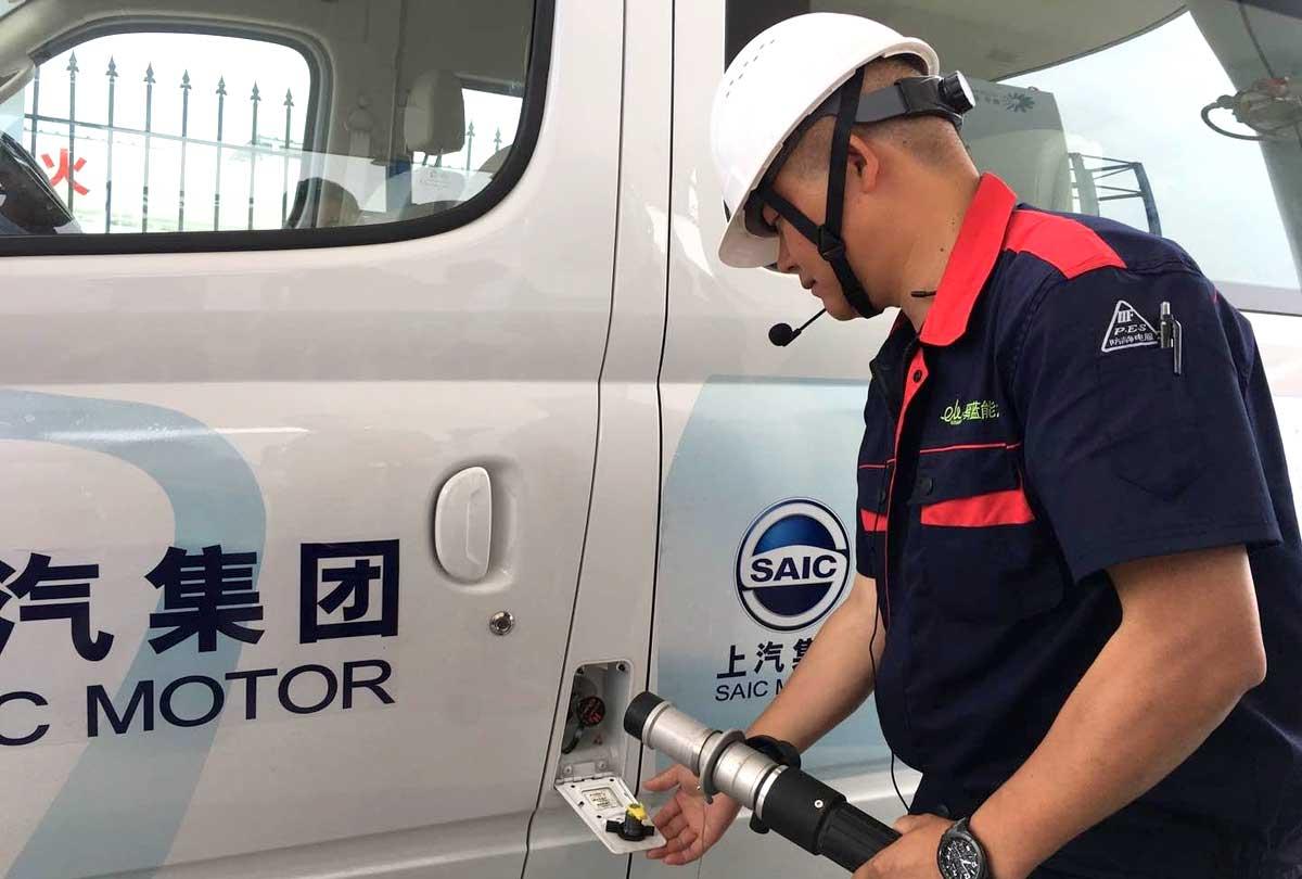 Shanghai prévoit 70 stations hydrogène d'ici 2025