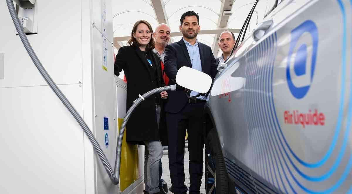 Shell et Air Liquide inaugurent la 75ème station hydrogène d'Allemagne