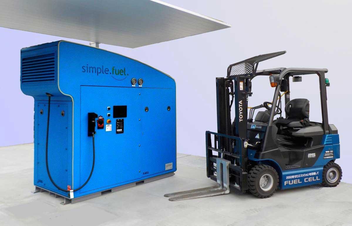 Au Japon, Toyota lance une mini-station à hydrogène pour ses chariots élévateurs