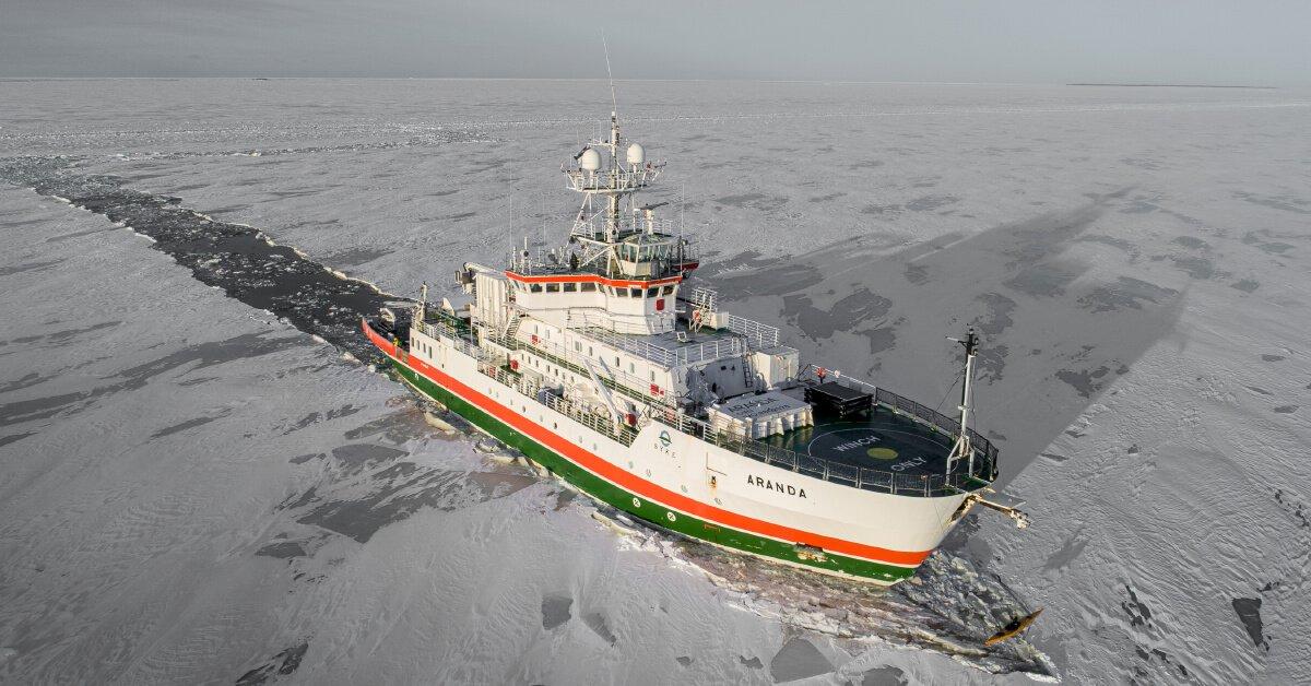 Le navire de recherche SKYE Aranda teste la technologie hydrogène