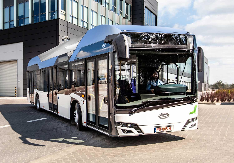 La RATP va tester le bus à hydrogène de Solaris
