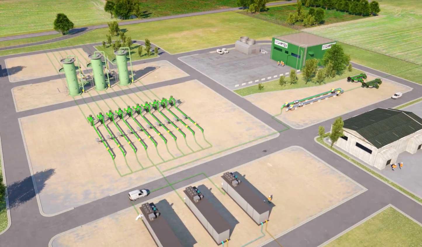 Avec HyPSTER, Storengy se lance dans le stockage d'hydrogène vert