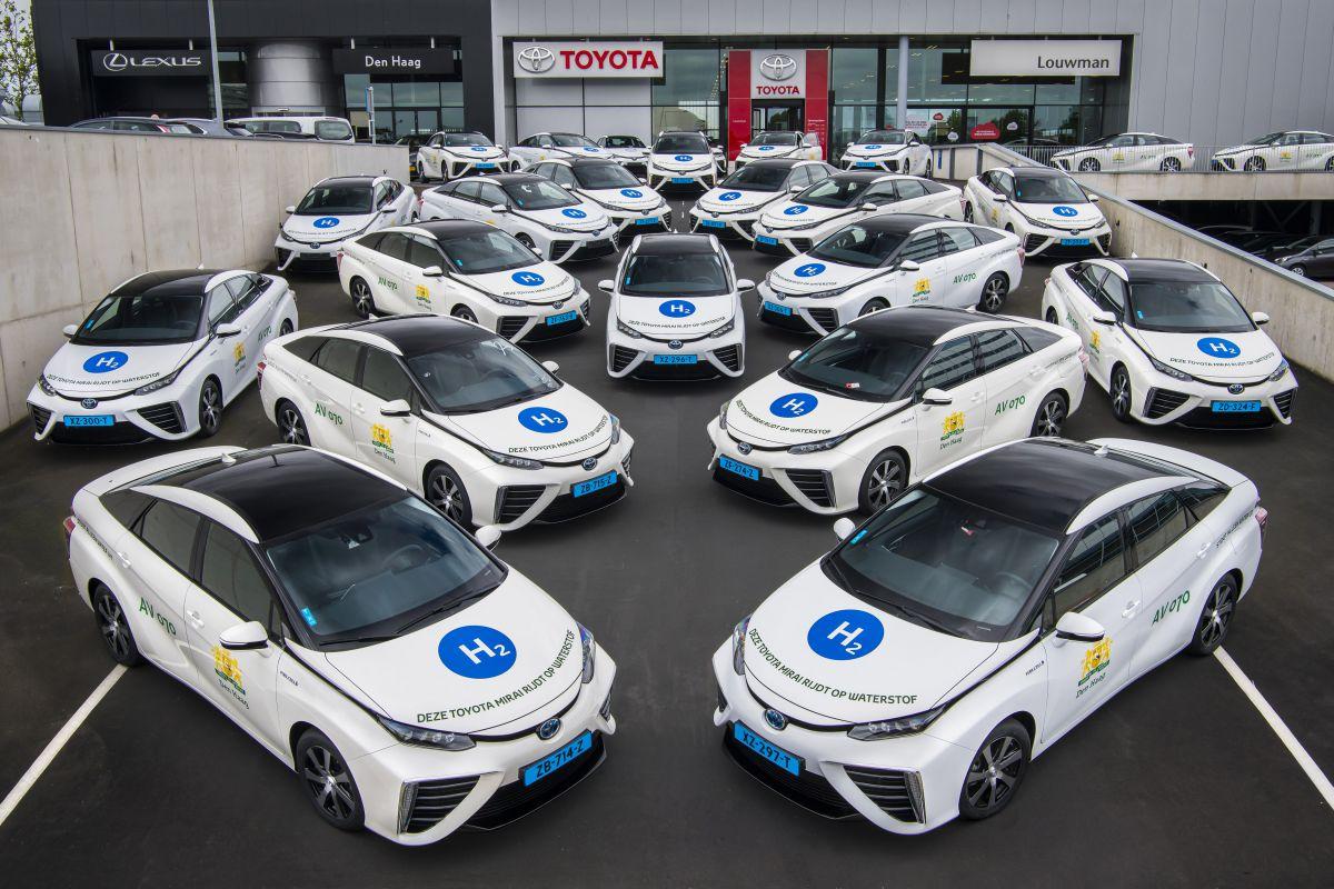 Pays-Bas : une première flotte de taxis à hydrogène à La Haye
